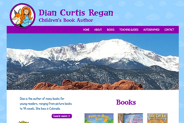 Custom Designed Author Websites