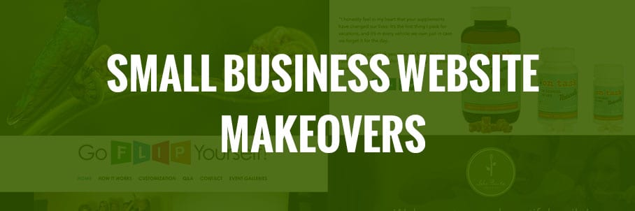 Four Small Business Website Makeovers of 2018